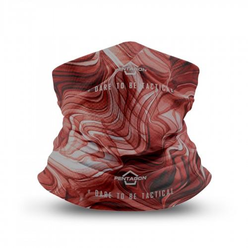 ΚΑΣΚΟΛ ΛΑΙΜΟΥ PENTAGON SKIRON LIQUID K14013-74 MAROON RED