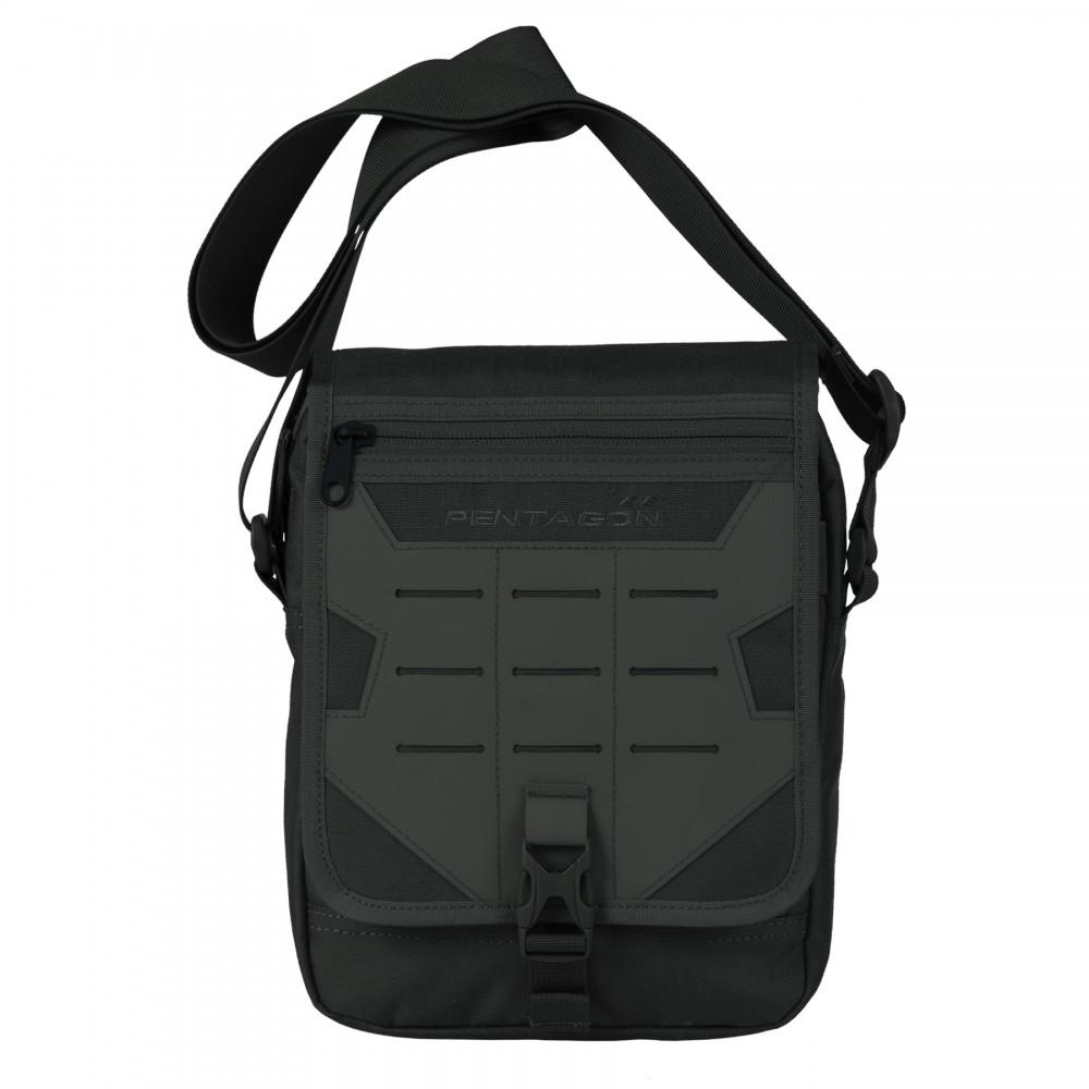 ΤΣΑΝΤΑΚΙ PENTAGON MESSENGER BAG K16087-01 BLACK