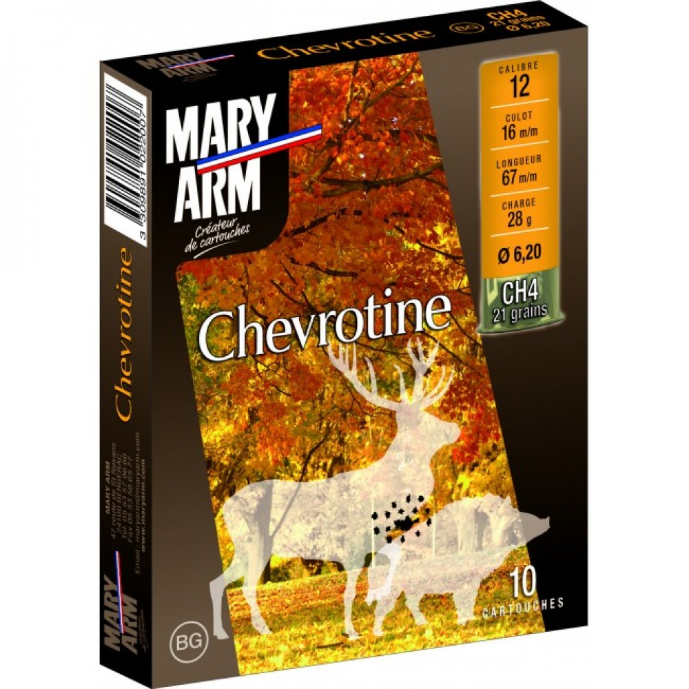 ΦΥΣΙΓΓΙΑ MARY ARM CHEVROTINE 9ΒΟΛΟ 24gr Cal.16 10τμχ