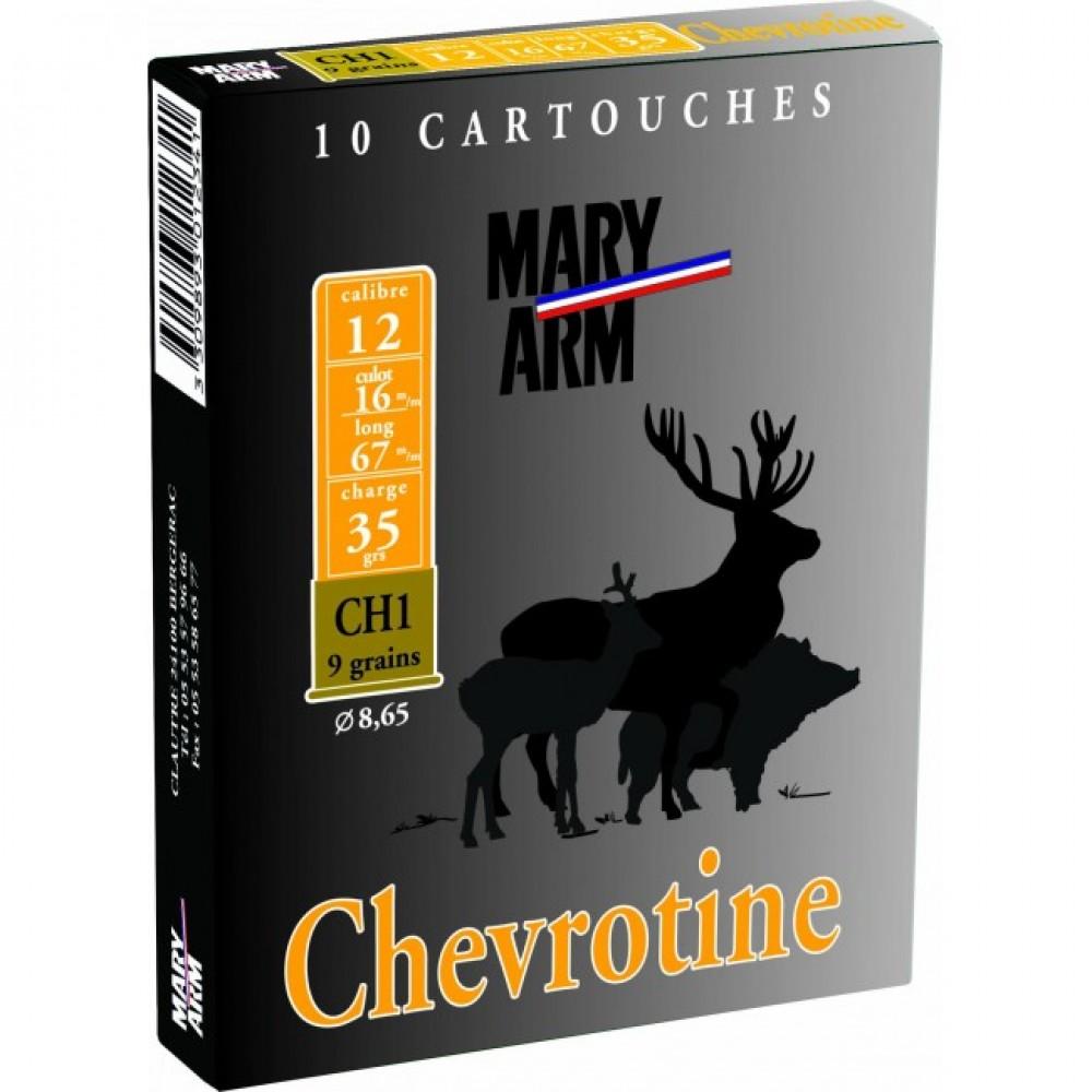 ΦΥΣΙΓΓΙΑ MARY ARM CHEVROTINE 9ΒΟΛΟ 35gr Cal.12 10τμχ