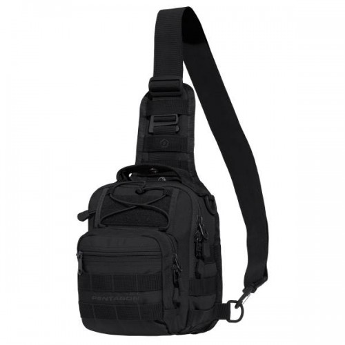 77d8212a29 ΤΣΑΝΤΑΚΙ ΣΤΗΘΟΥΣ PENTAGON UCB 2.0 TACTICAL CHEST BAG K17046-01 BLACK